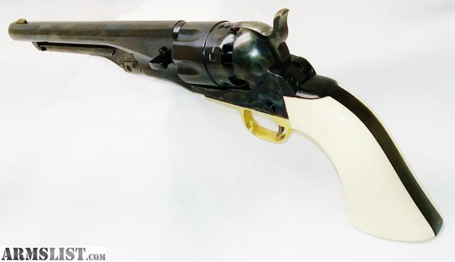 ARMSLIST - For Sale: 1860 Colt Army - Steel Frame - 44Cal by Filli