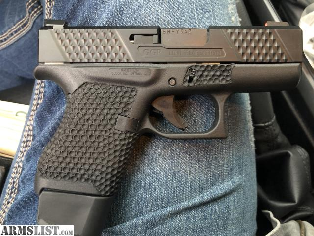 ARMSLIST - For Sale: Glock 43 grey ghost precision