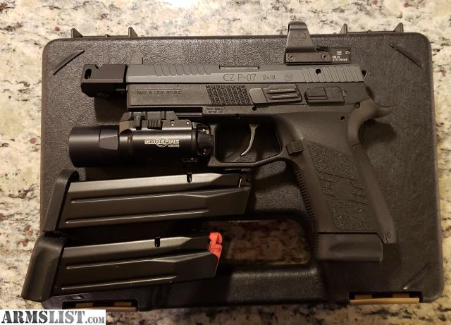 ARMSLIST - For Sale/Trade: CZ P07 Competition Ready, Cut for