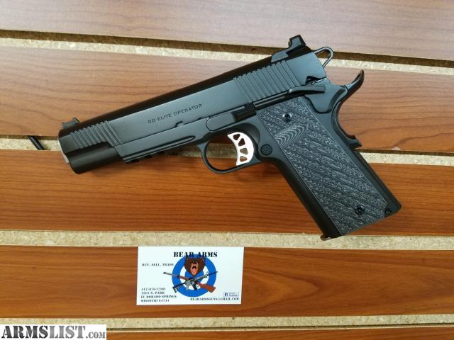 ARMSLIST - For Sale: Springfield Armory 1911 RO Elite OP 10mm