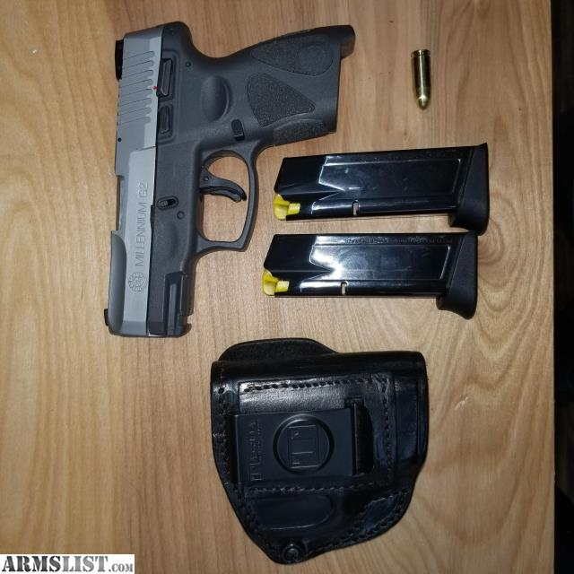 ARMSLIST - For Sale: taurus pt111 g2c, mag ammo and holster