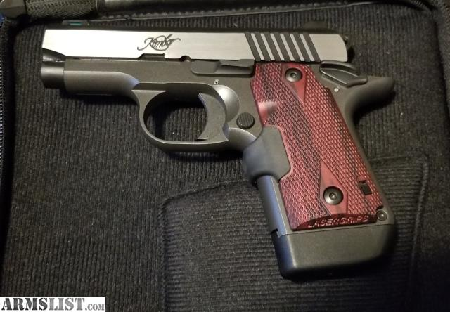 ARMSLIST - For Sale: Kimber Micro 9 with Laser Grips