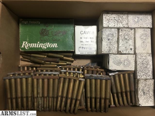 armslist for sale trade 7mm mauser surplus ammo