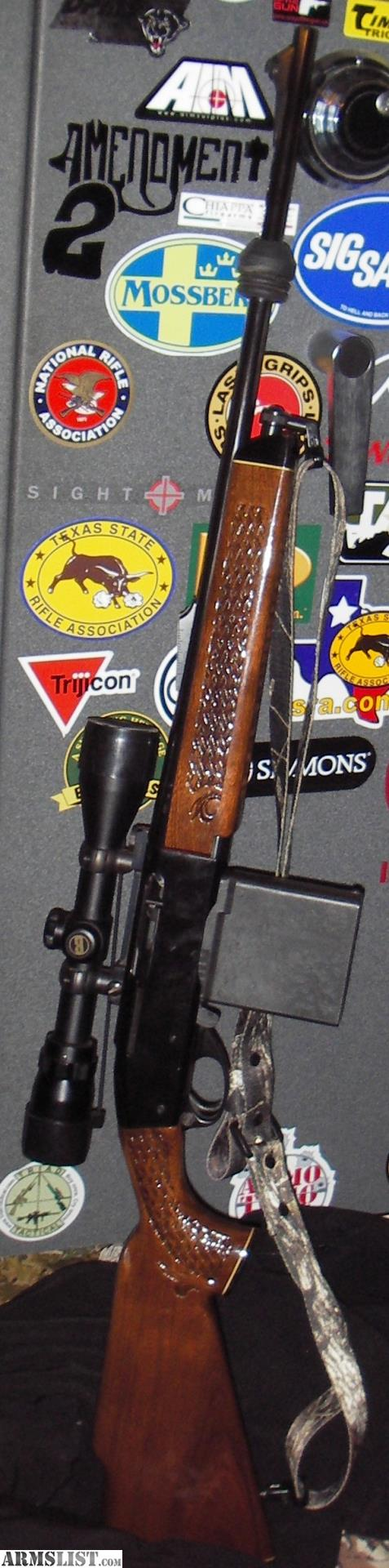 ARMSLIST - For Sale: Remington Woodsmaster 742 BDL Custom