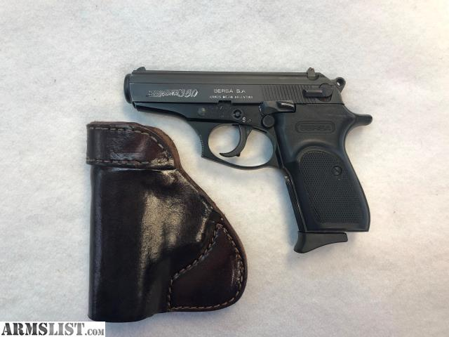 ARMSLIST - For Sale: Bersa Thunder 380 Pistol  380cal with