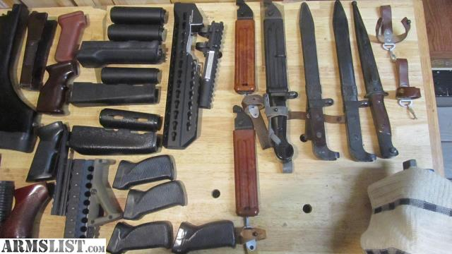 ARMSLIST - For Sale: Many AK & AR parts & scopes