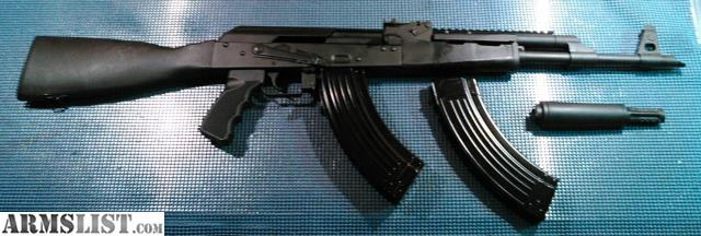 ARMSLIST - For Sale/Trade: Ak47 with Ultimak rail
