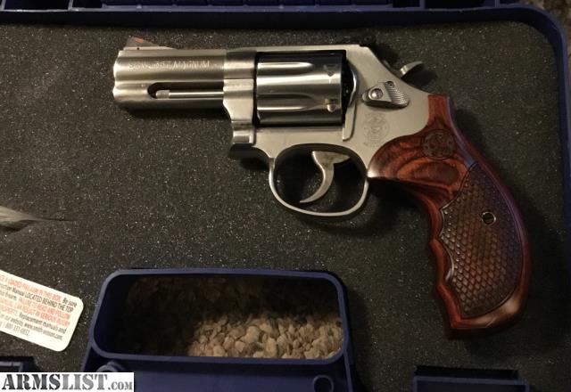 Smith Wesson Model 686 6 Plus Deluxe 3 7 Shot 357 Magnum Excellent Condition This Has Had An Action Job From Comes With The Box And Papers