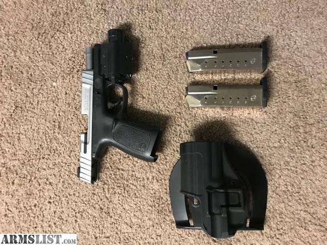 ARMSLIST - For Sale/Trade: S&W SD40VE with extras