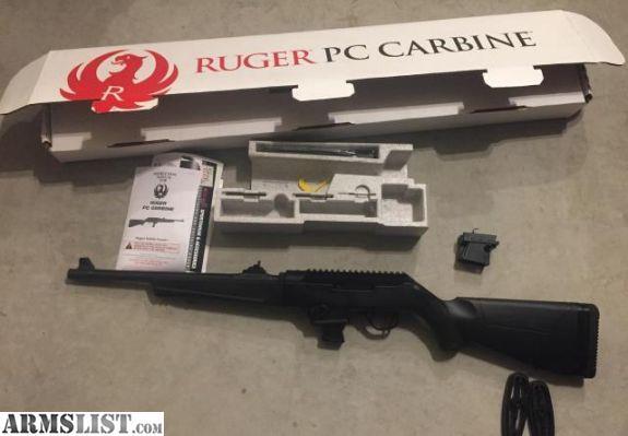 Armslist For Saletrade Ruger Pc9 Carbine W Extras