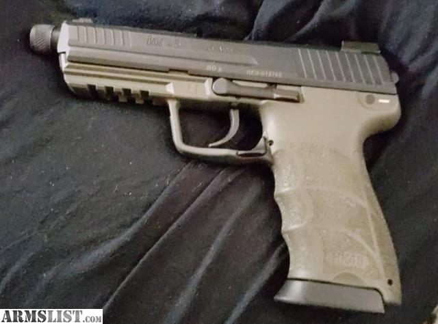 ARMSLIST - For Sale: HK45 Tactical LEM OD Green