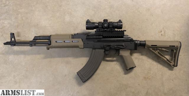 ARMSLIST - For Sale: Romanian WASR-10 w/Rifle Dynamics M4