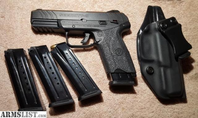 ARMSLIST - For Sale: Ruger Security 9 + extras