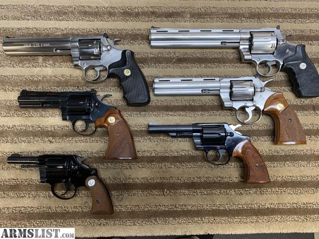 ARMSLIST - For Sale: MINT Colt snake guns (Viper, Anaconda