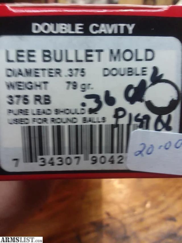 ARMSLIST - For Sale: Lee black powder bullet molds