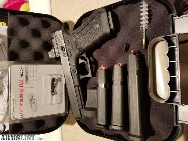 ARMSLIST - For Sale: Glock 34, Leupold DPP red dot, jaeger