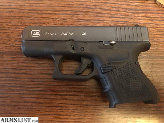 ARMSLIST - For Sale: Glock 27 gen 4