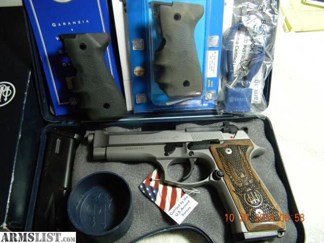 ARMSLIST - For Sale: Beretta 92 Brigadier Inox