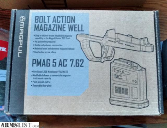 ARMSLIST - For Sale: Magpul Hunter 700 AICS magwell, AR-10