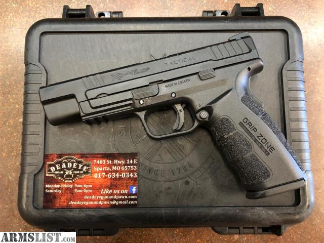 ARMSLIST - For Sale: New Springfield Armory XD-45 Mod 2 Tactical