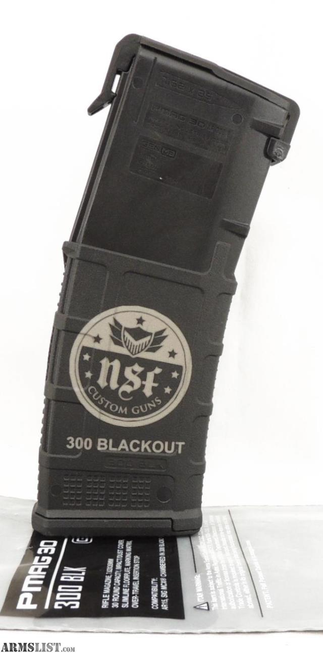 Armslist For Sale 300 Blackout Logo Pmag Magazine