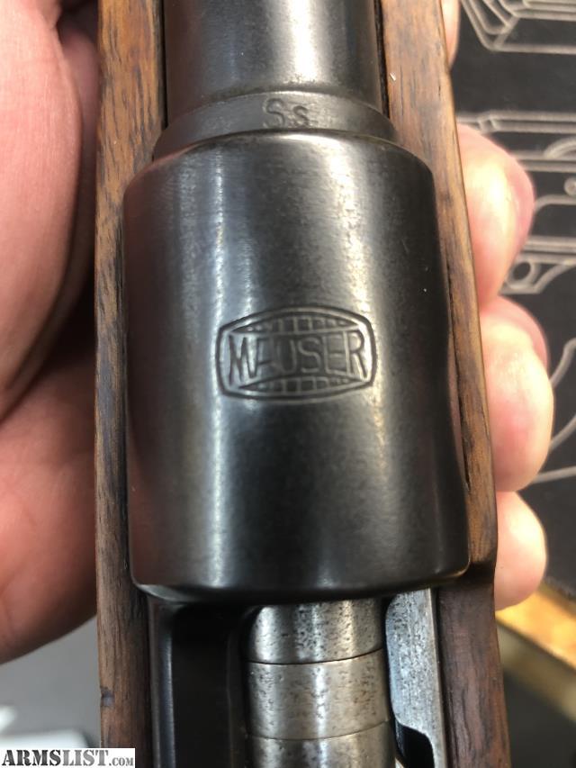ARMSLIST - For Sale/Trade: Pre 98k Mauser Standard model