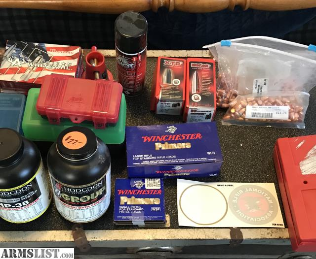 ARMSLIST - For Sale/Trade:  270/ 38/9mm Reloading Supplies