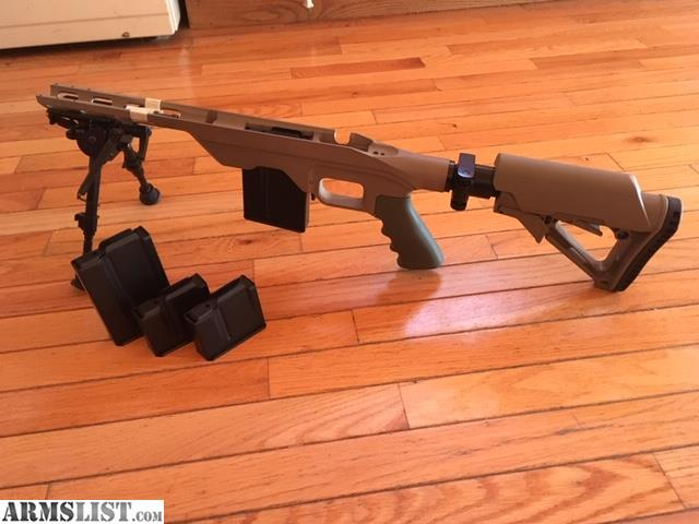ARMSLIST - For Sale: MDT LSS chassis plus extras