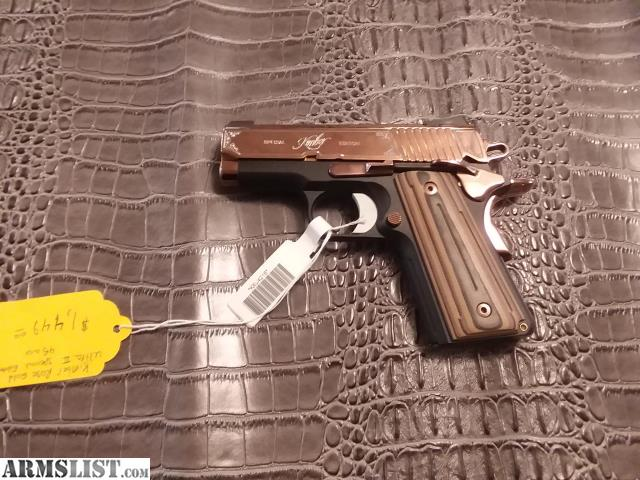 ARMSLIST - For Sale: Kimber Rose Gold Ultra 2 special edition