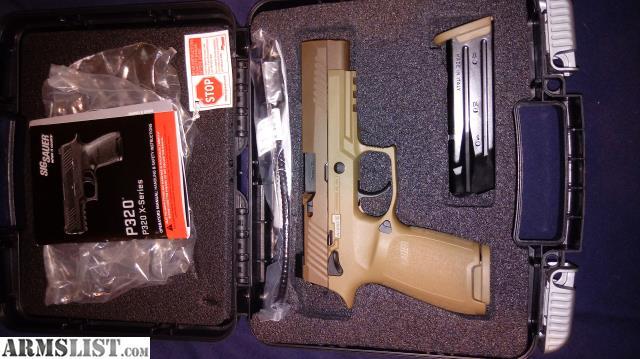 ARMSLIST - For Sale: Sig Sauer M17 FDE pistol