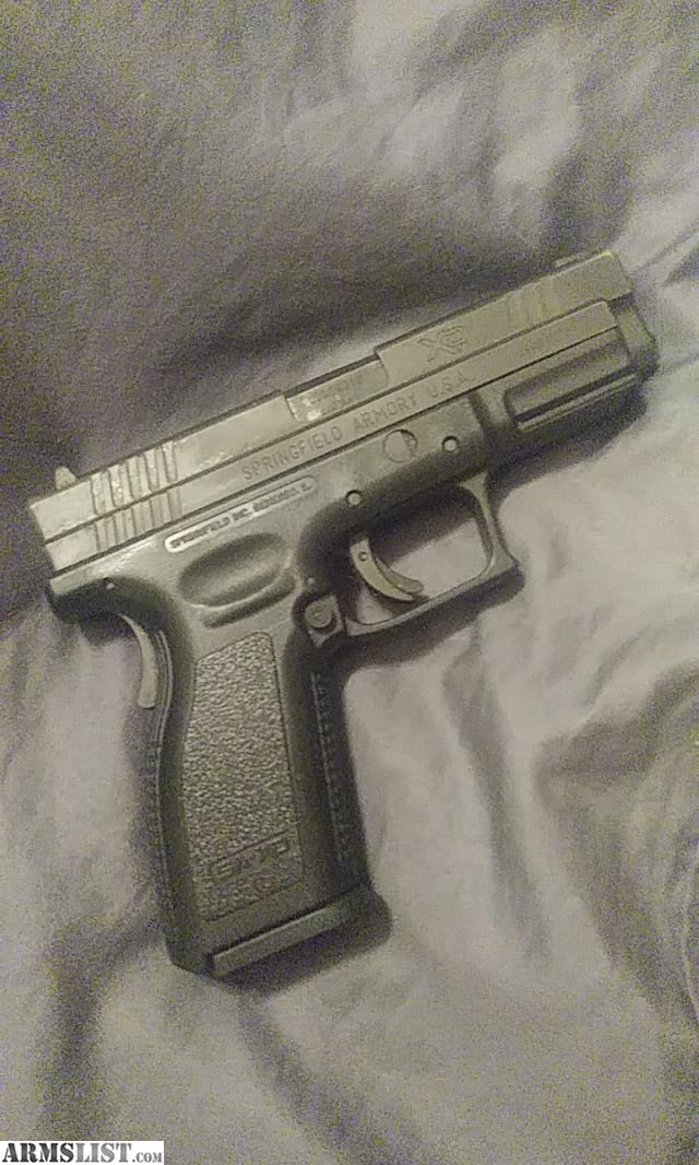 ARMSLIST - For Sale: Springfield xd 9mm with iwb holster