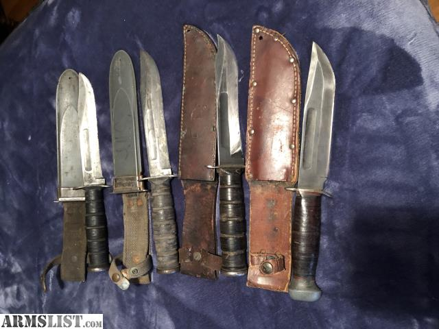 ARMSLIST - For Sale: Ww2 Fighting knives