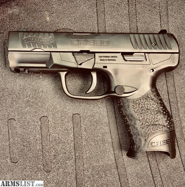 ARMSLIST - For Sale: Walther Creed 9mm w/ 4 magazines