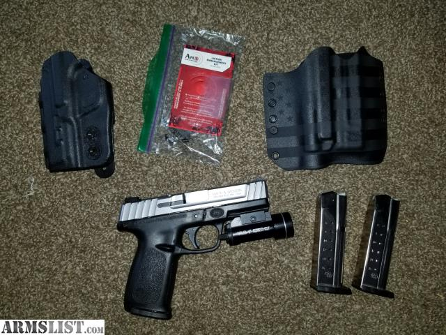 ARMSLIST - For Sale/Trade: S&W SD9VE 9mm w/3 mags & TLR1