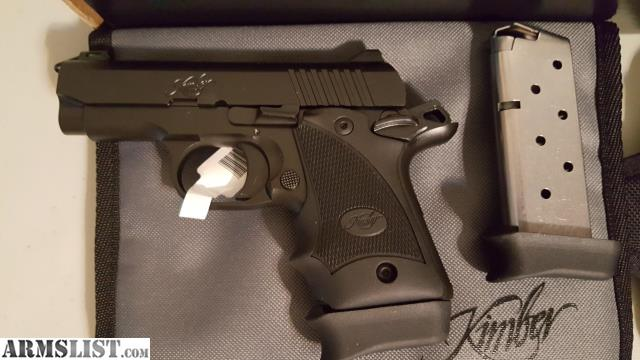 ARMSLIST - For Sale: Kimber Micro 9 w/holster