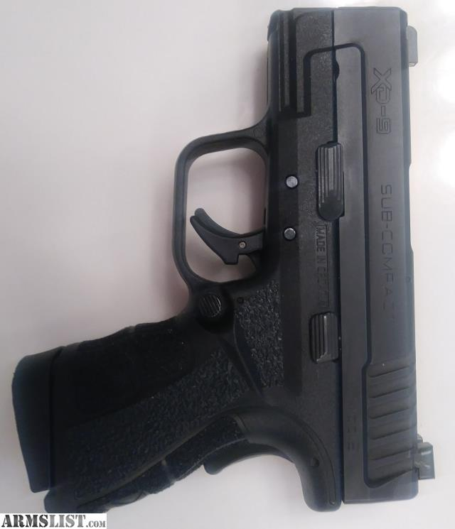 For Sale: Upgraded Springfield Xd Mod 2 Sub