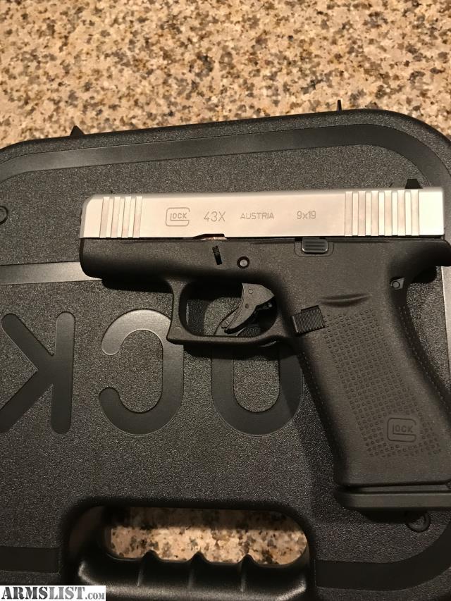 ARMSLIST - For Sale: Glock 43X Glock 43 X new