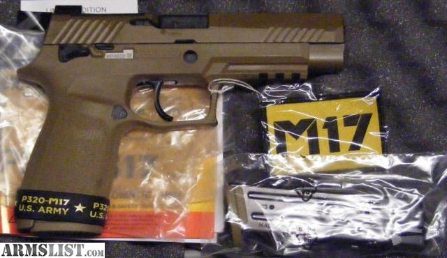 ARMSLIST - For Sale: NEW IN BOX Sig Sauer P320 M17 9mm