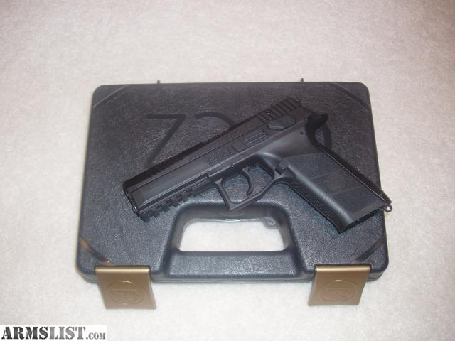 ARMSLIST - For Sale/Trade: TRADED **** CZ P-09 LE/Military