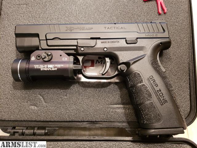 ARMSLIST - For Sale: Springfield XD mod  2  45 ACP Tactical