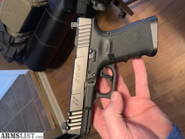 ARMSLIST - For Sale: Glock 19 gen 4 Zev Spartan
