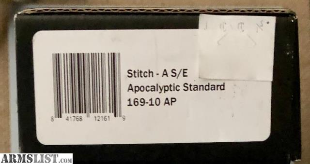 ARMSLIST - For Sale: Microtech Stitch Apocalyptic Finish