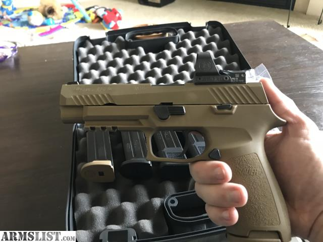 ARMSLIST - For Sale: LNIB SIG P320-M17 w/Delta Point Pro & Mags