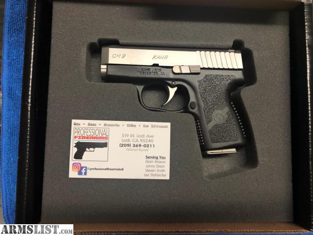 ARMSLIST - For Sale: Kahr Arms CM9 Semi-Auto Pistol