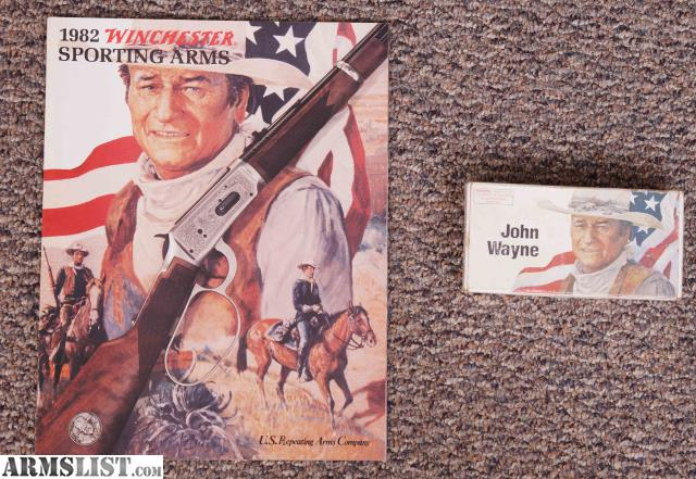 ARMSLIST - For Sale/Trade: Winchester John Wayne model 94 with