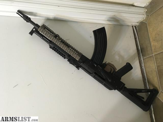 """ARMSLIST - For Sale/Trade: AK47 14 5"""" pin/weld tricked out"""