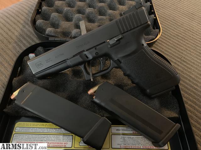 ARMSLIST - For Sale/Trade: Glock 20C Gen 2 5 **10MM**