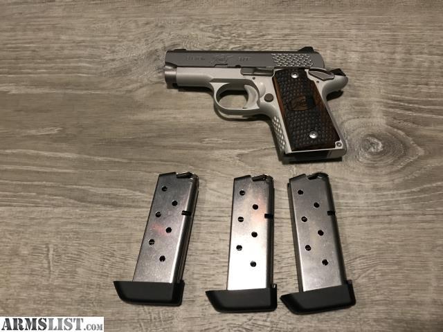 ARMSLIST - For Sale: Kimber micro 9mm raptor