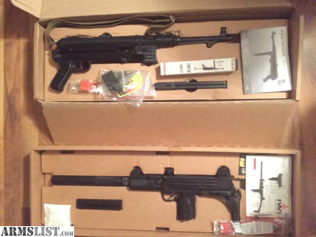ARMSLIST - For Sale: GsG MP 40 9mm IWI UZI 22 cal