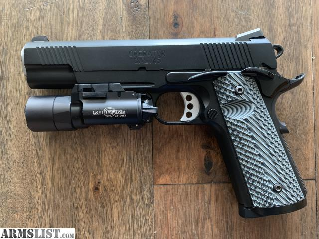 ARMSLIST - For Sale: Springfield Armory 1911 Loaded Operator  45ACP